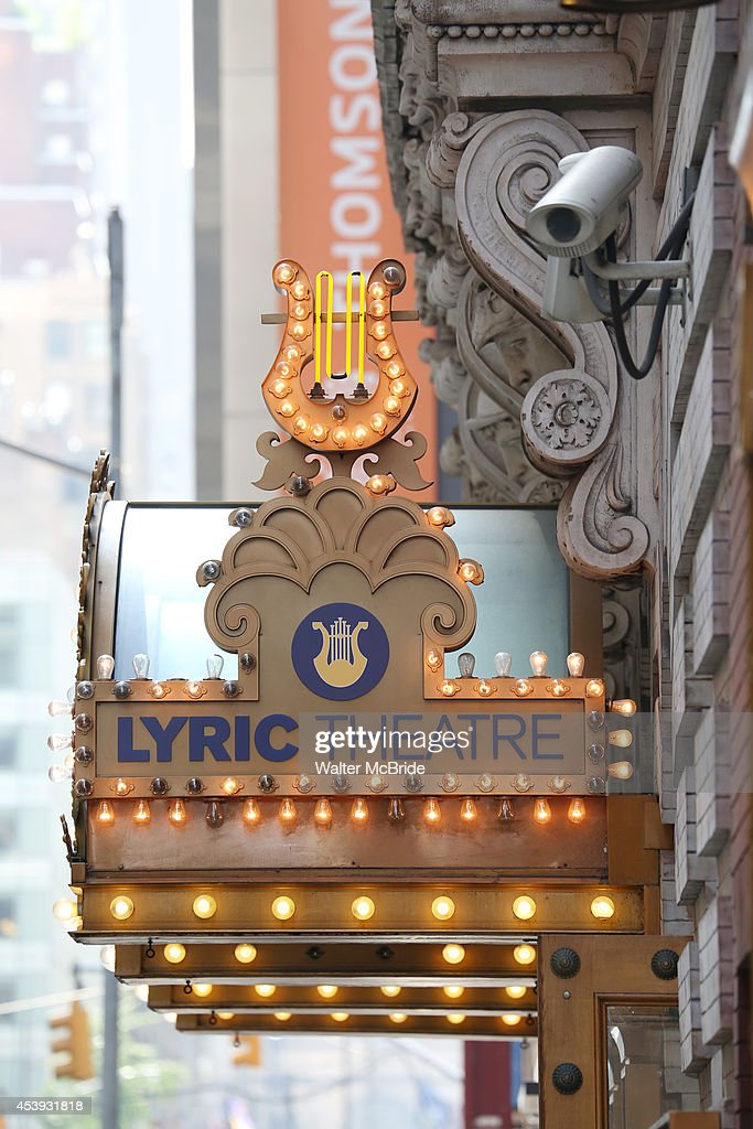 Marquee Unveiling For The Lyric Theatre Photos and Images | Getty ...