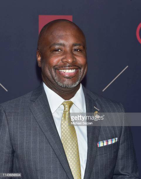 Marqueece HarrisDawson attends Byron Allen Honored by Los Angeles Urban League on April 18 2019 in Hollywood California