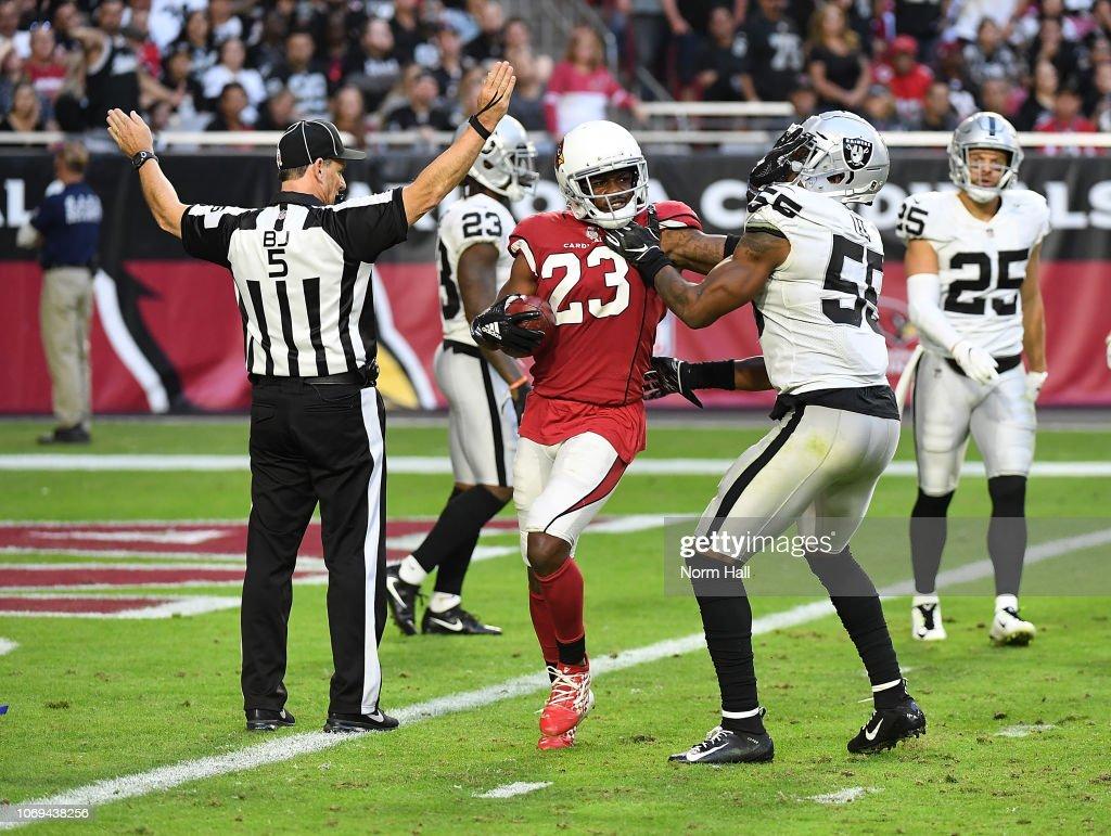 Oakland Raiders v Arizona Cardinals : News Photo