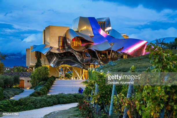 Marques de Riscal hotel by Frank Gehry architect in Rioja Alavesa.