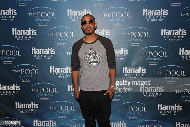 Marques Houston performs at The Pool After Dark at Harrah's Resort on Friday July 11 2014 in Atlantic City New Jersey
