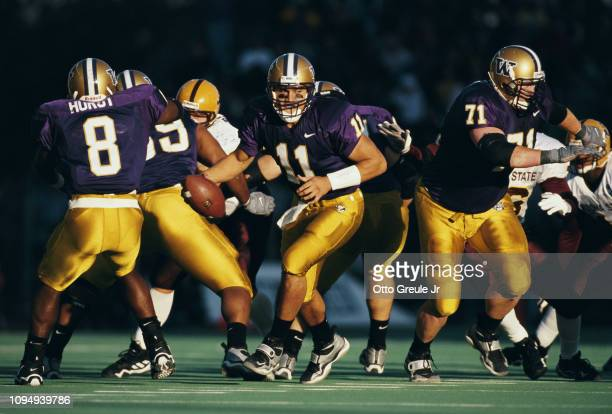 Marques Tuiasosopo, Quarterback for the University of Washington Huskies during the NCAA Pac-10 Conference college football game against the Arizona...