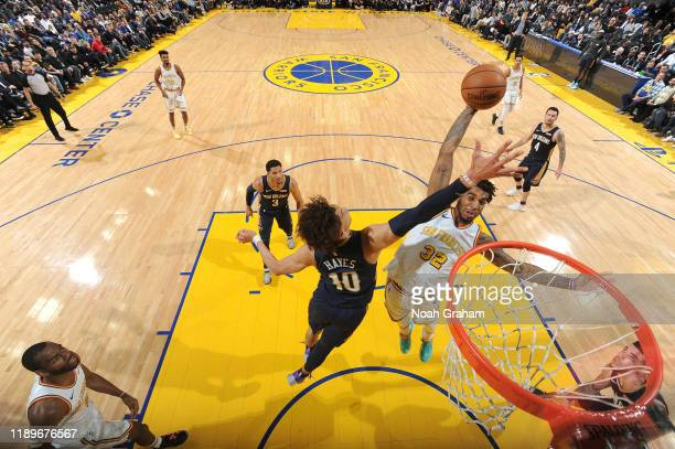 Marquese Chriss of the Golden State Warriors dunks the ball against the New Orleans Pelicans on December 20 2019 at Chase Center in San Francisco...