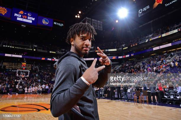 Marquese Chriss of the Golden State Warriors poses for a photo during the game against the Phoenix Suns on February 29 2020 at Talking Stick Resort...
