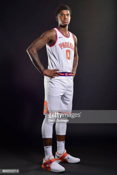 Marquese Chriss of the Phoenix Suns poses for a portrait at the Talking Stick Resort Arena in Phoenix Arizona NOTE TO USER User expressly...