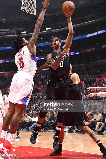 Marquese Chriss of the Phoenix Suns shoots the ball against the LA Clippers on January 2 2017 at STAPLES Center in Los Angeles California NOTE TO...