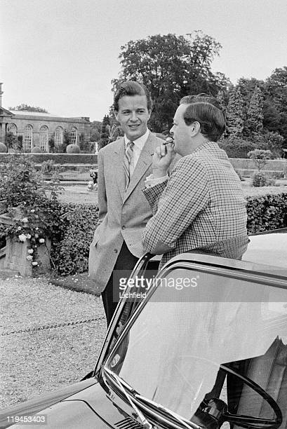 Marquess of Blandford and Lord Charles Spencer Churchill Lord Charles Spencer Churchill and Marquess of Blandford Blenheim Palace Oxfordshire 1st...