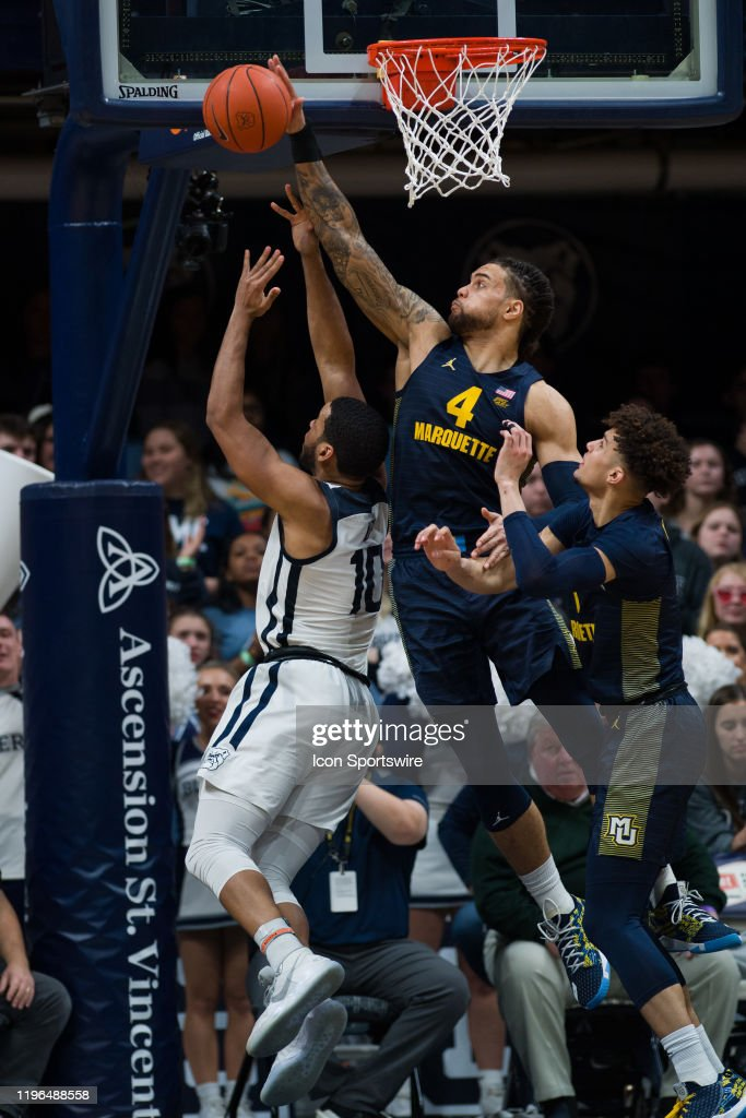 COLLEGE BASKETBALL: JAN 24 Marquette at Butler : News Photo