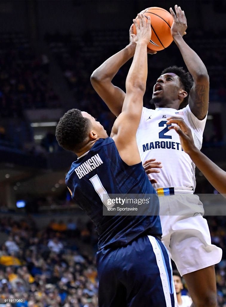 COLLEGE BASKETBALL: JAN 28 Villanova at Marquette : News Photo