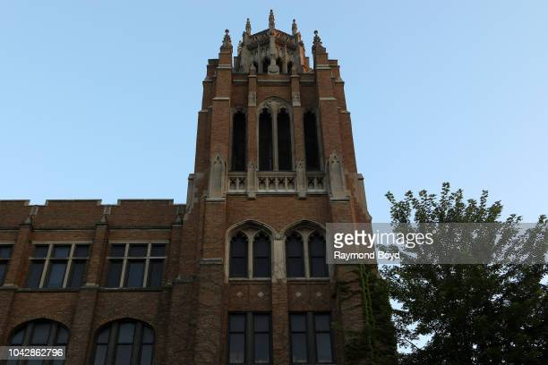 Marquette Hall at Marquette University in Milwaukee, Wisconsin on September 14, 2018.