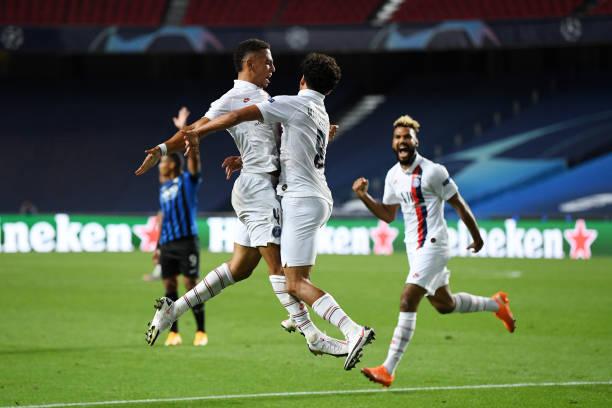 PRT: Atalanta v Paris Saint-Germain - UEFA Champions League Quarter Final