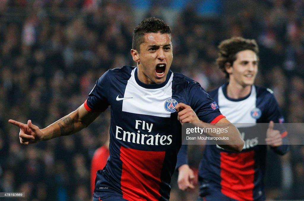 Paris Saint-Germain FC v Bayer Leverkusen - UEFA Champions League Round of 16 : Photo d'actualité