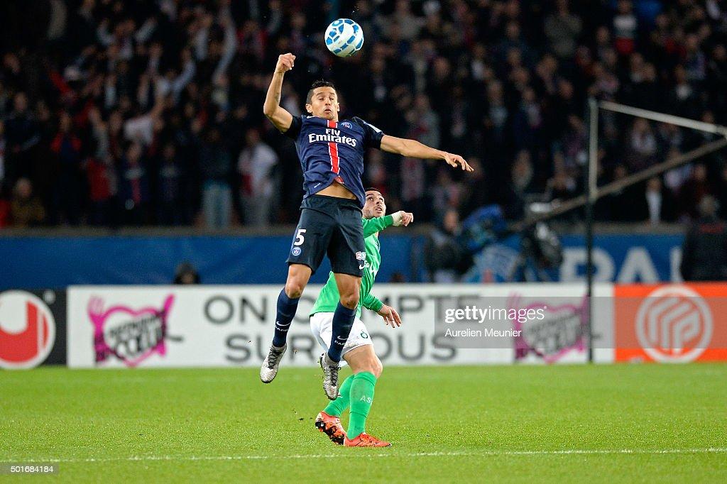 Paris Saint-Germain v AS Saint Etienne - French League Cup - At Parc Des Princes : News Photo