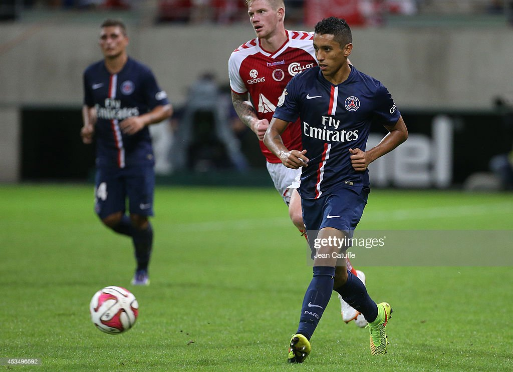 Stade de Reims v Paris Saint-Germain FC - Ligue 1 : News Photo
