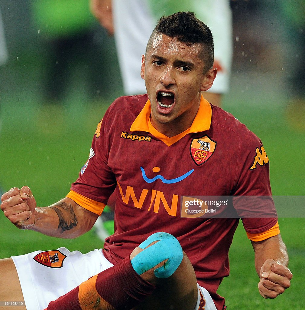 Marquinhos of Roma during the Serie A match between AS Roma and Parma...  Foto di attualità - Getty Images