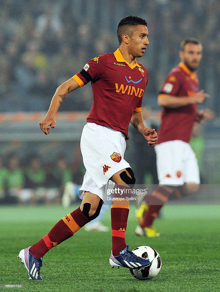 Marquinhos of Roma in action during the Serie A match between AS Roma...  Foto di attualità - Getty Images