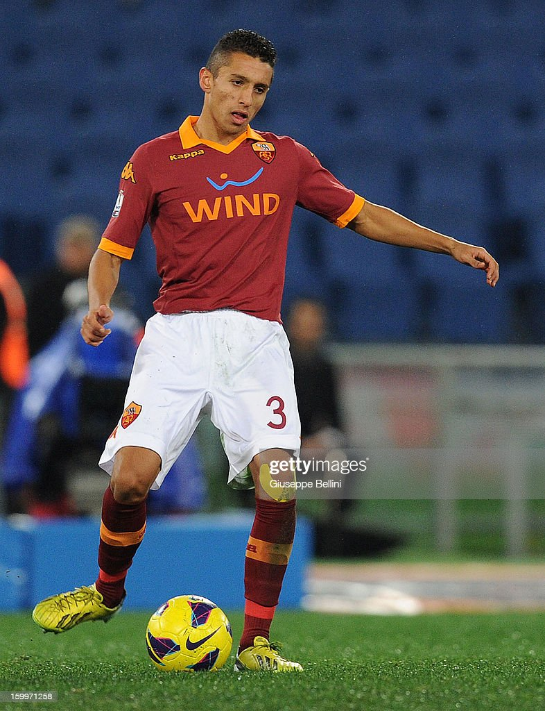 Marquinhos of Roma in action during the TIM cup match between AS Roma...  News Photo - Getty Images