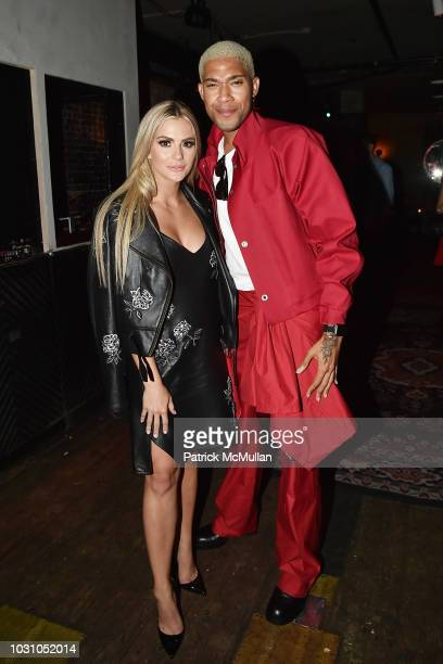 Marquis Bias and Sarah Rose Summers attend the Nicole Miller Spring 2019 After Party at Acme on September 6 2018 in New York City
