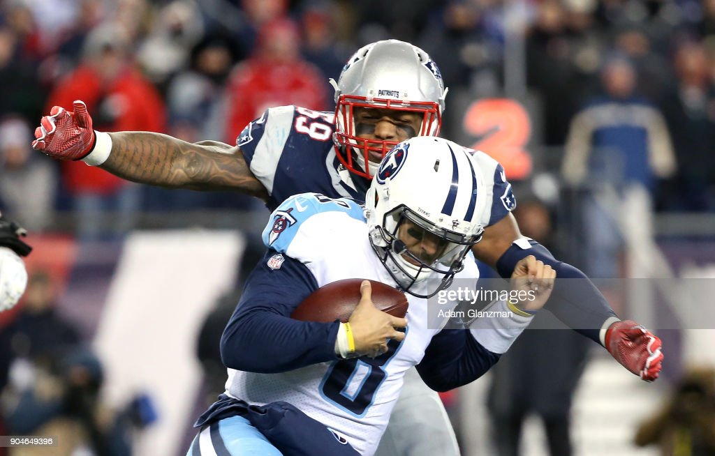 Divisional Round - Tennessee Titans v New England Patriots