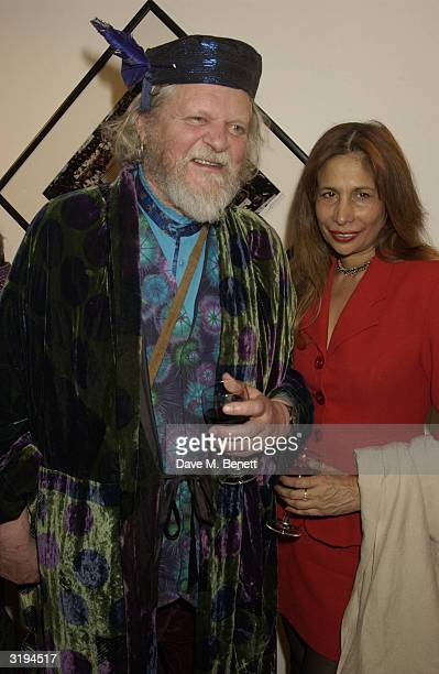Marquis of Bath and Jaganagh attend a party to launch the DVD of Master And Commander The Far Side Of The World at the Proud Central on April 1 2004...