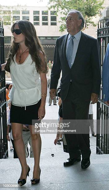 Marquis of Grinon, Carlos Falco attends the funeral for Eduardo Sanchez Junco, editor-in-chief of 'Hola' magazine on July 20, 2010 in Madrid, Spain....
