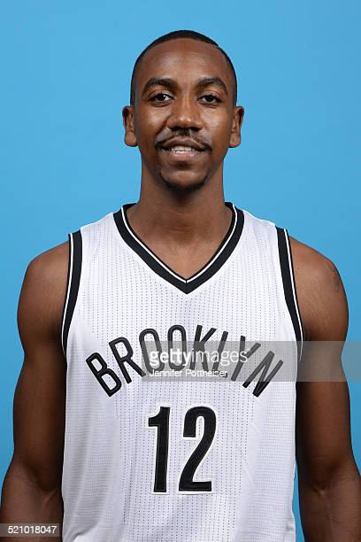 Marquis Teague of the Brooklyn Nets poses for a portrait during media day on September 26 2014 at the PNY Center in East Rutherford New Jersey NOTE...