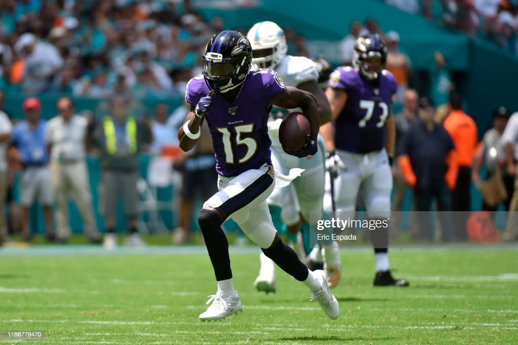 Baltimore Ravens v Miami Dolphins : News Photo