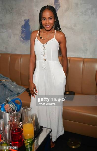 Marquita Goings attends Cassette Hosted by Kenny Burns Featuring Carl Thomas at District Atlanta on April 19 2019 in Atlanta Georgia