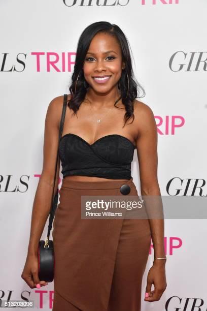 Marquita Goings attends Girl Trip Atlanta Screening at SCADshow on July 11 2017 in Atlanta Georgia