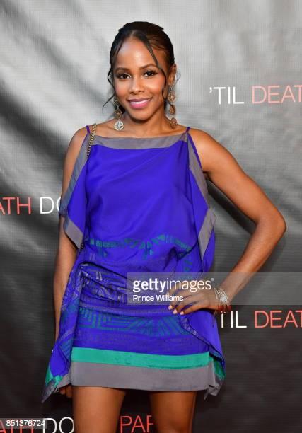 Marquita Goings attends Til Death Do Us Part Atlanta Screening at Regal Atlantic Station on September 21 2017 in Atlanta Georgia