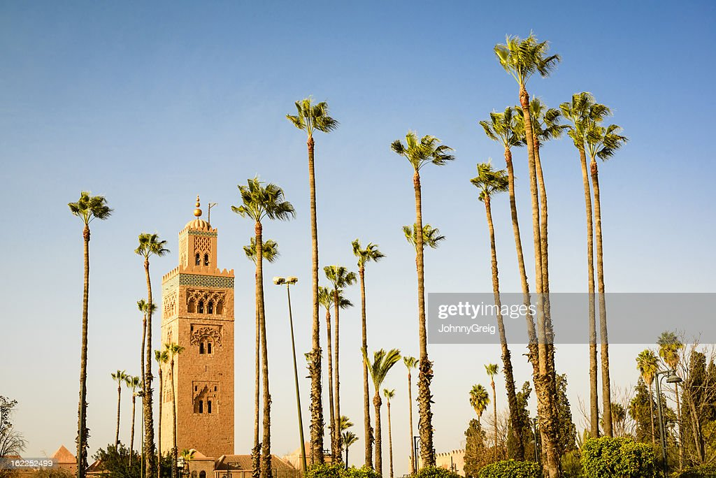 Marrakech Koutoubia : Stock Photo