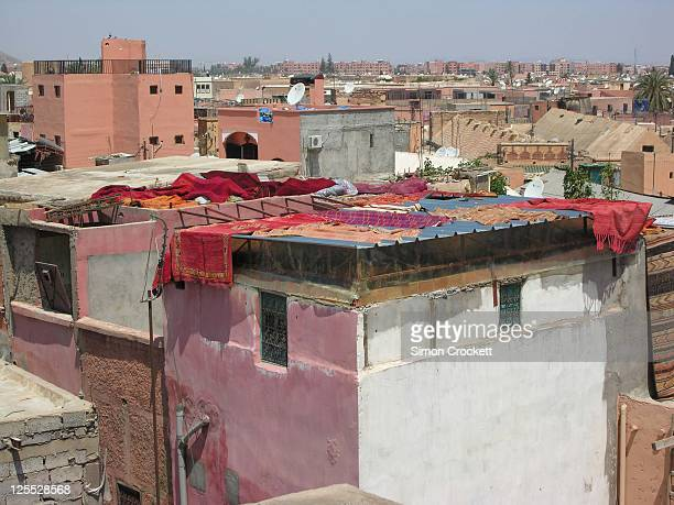 Marrakech roofs