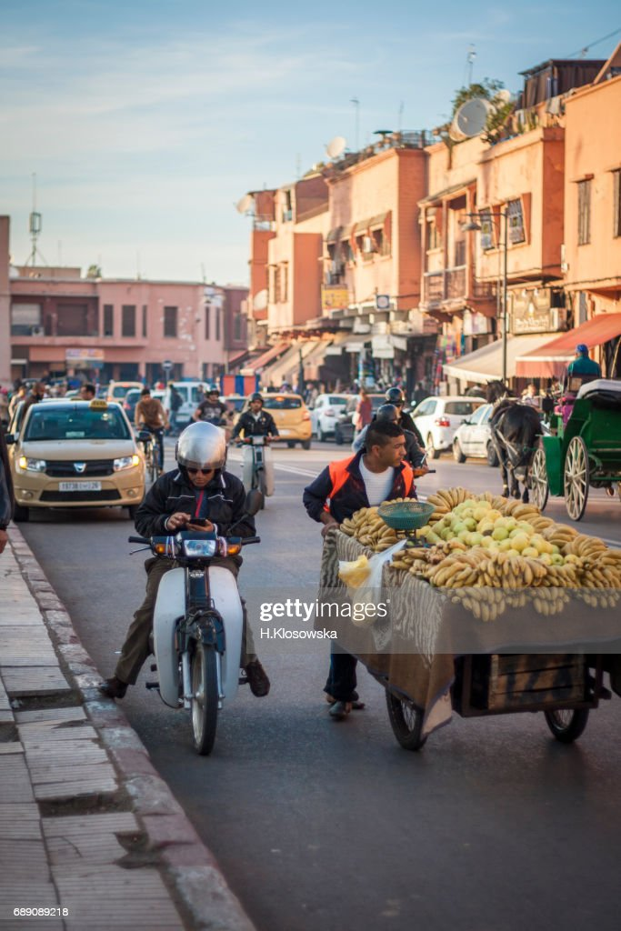 marrakesh street life : Stock Photo
