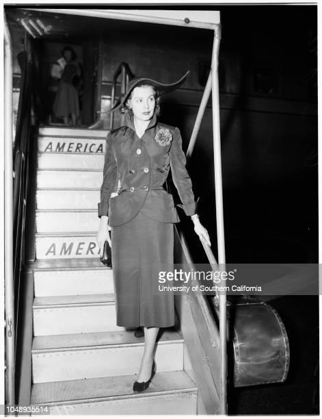 Marriage cancelled April 14 1951 Arlene Dahl