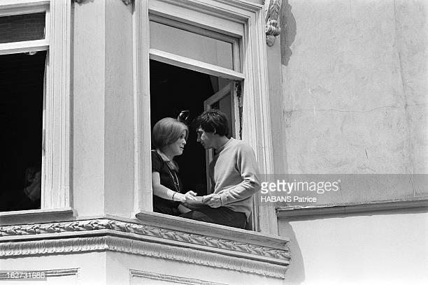 Marriage Of Catherine Deneuve And David Bailey. Mariage civil pour Catherine DENEUVE et David BAILEY à la mairie de Saint Pancras à LONDRES : vue en...