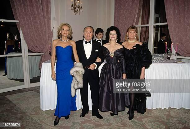 Marriage Of Catherine D'ornano And Jeanlouis Albarran A Deauville au Casino des Ambassadeurs de gauche à droite Madame GUERRAND HERMES et son mari...