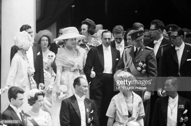Marriage Of Don Juan Carlos De Bourbon Y Bourbon, Heir Of The Crown Of Spain And Sophie Schleswig-Holstein, Princess Of Greece. En Grèce, à Athènes,...