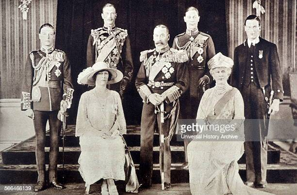 Marriage of future King George VI of great Britain to Elizabeth Bowes Llyon 1923
