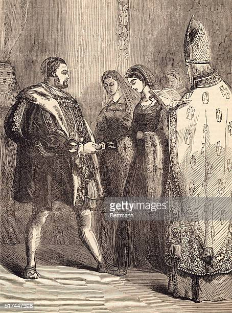 Marriage of Henry VIII and Catherine Parr
