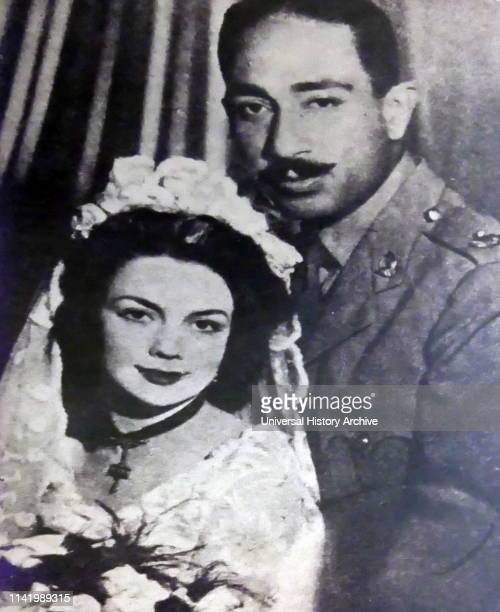Marriage of Jehan and Anwar Sadat 1949 Muhammad Anwar elSadat President of Egypt serving from 15 October 1970 until his assassination by...