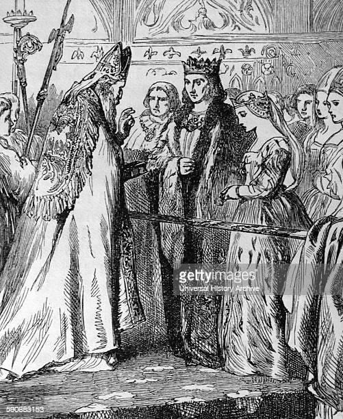 Marriage of King Henry VII and Elizabeth of York Henry VII was King of England ruled the Principality of Wales[1] and Lord of Ireland from his...