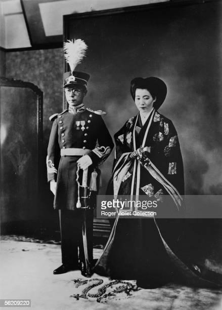 Marriage of the Chinese prince Pou Chieh with the Japanese marquis Hiroko Saga's daughter
