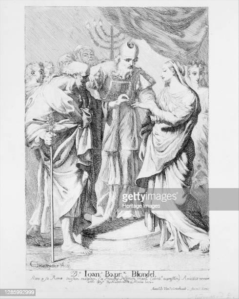 Marriage of the Virgin. Artist Robert van Audenaerde.