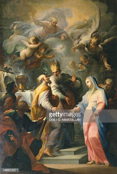 Marriage of the Virgin Mary by Giovanni Camillo Sagrestani Church of Santo Spirito Florence