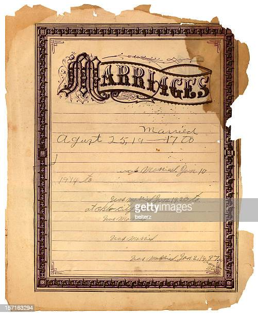 marriages ancient bible page