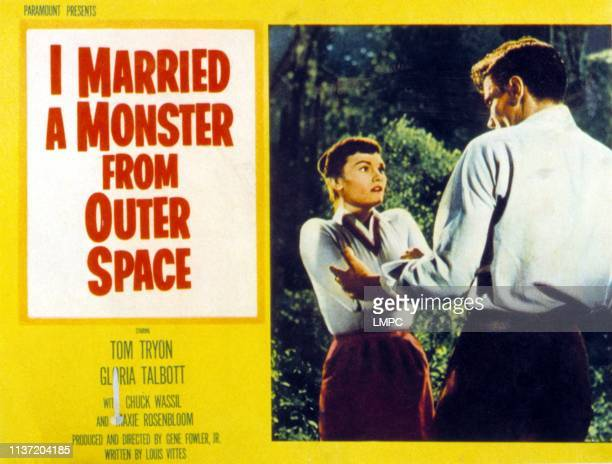 I Married A Monster From Outer Space lobbycard Gloria Talbott 1958