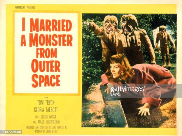I Married A Monster From Outer Space poster Gloria Talbott 1957
