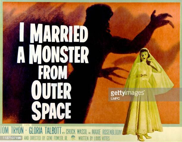 I Married A Monster From Outer Space poster Gloria Talbott 1958
