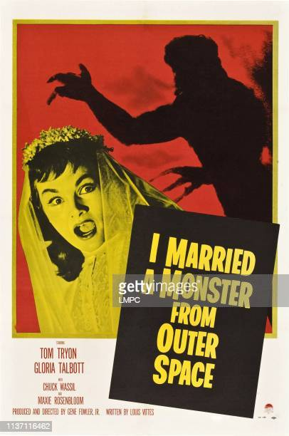 I Married A Monster From Outer Space poster Tom Tryon Gloria Talbott 1958