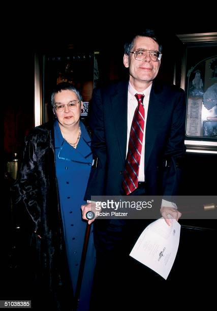 Married authors Tabitha and Stephen King arrive at the premiere of the motion picture adaptaion of Stephen's book 'The Green Mile' New York New York...